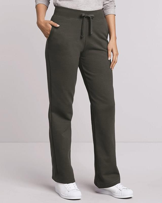 Heavy Blend™ Women's Open-Bottom Sweatpants