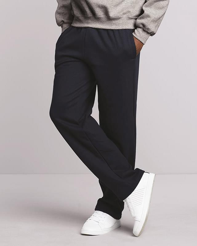 DryBlend® Open-Bottom Sweatpants with Pockets