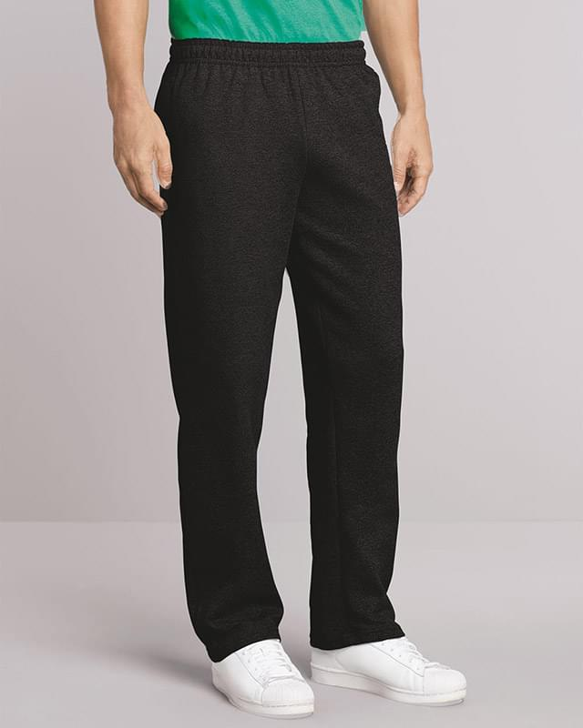 Heavy Blend™ Open-Bottom Sweatpants with Pockets