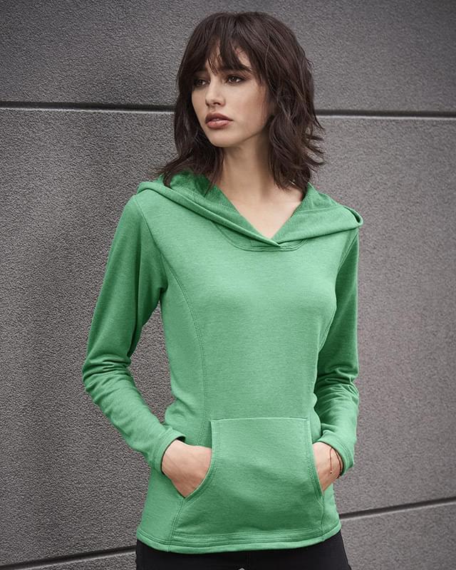 Women's Hooded French Terry Pullover