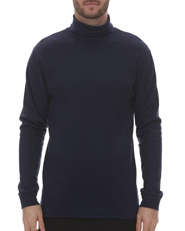 Interlock Turtleneck Long Sleeve T-Shirt